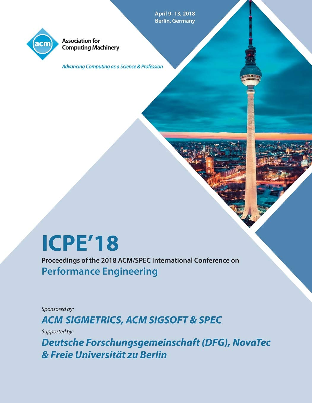 Amazon com: Icpe '18: Companion of the 2018 Acm/Spec