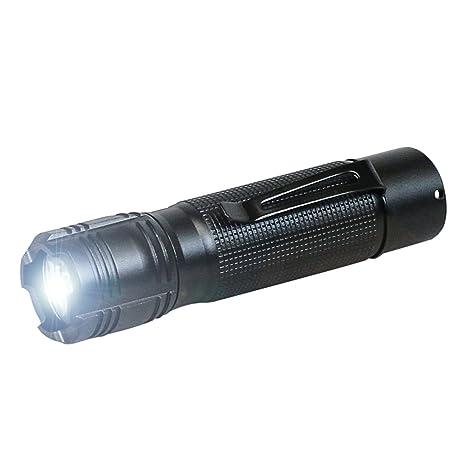 Ansmann Agent 1 1600-0034, Linterna de LED, 12 cm, con lente