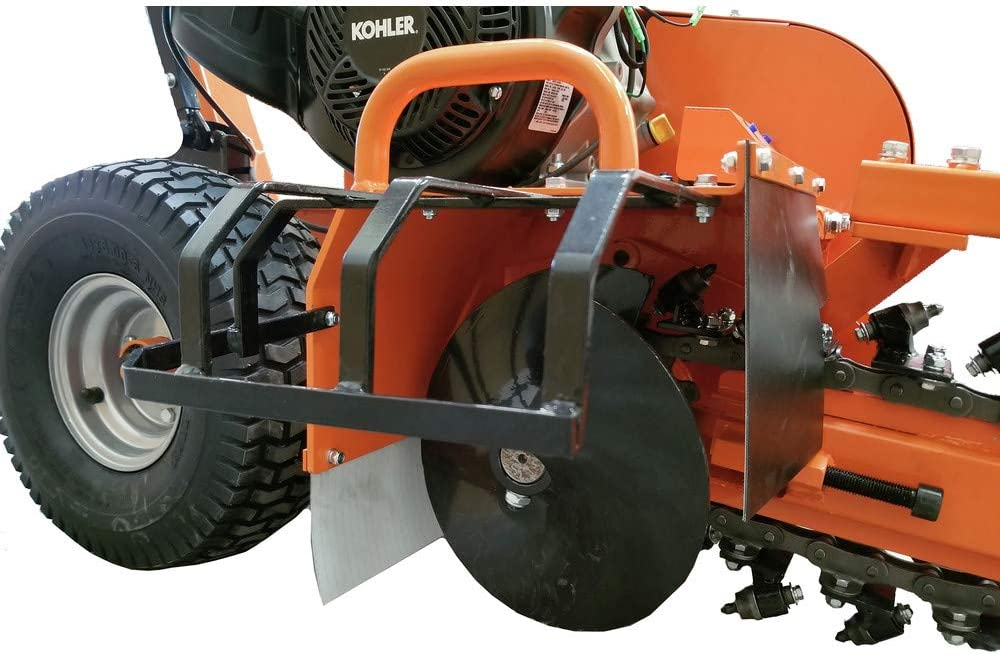DK2 Power 14HP 24 Trencher with Kohler Engine OPT124