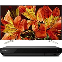 Sony Bravia XBR85X850F 85 4K HDR10 HLG Triluminos Android LCD TV with Google Assistant 3840x2160 + Sony UBPX700 Ultra HD BluRay Player with Dolby Vision