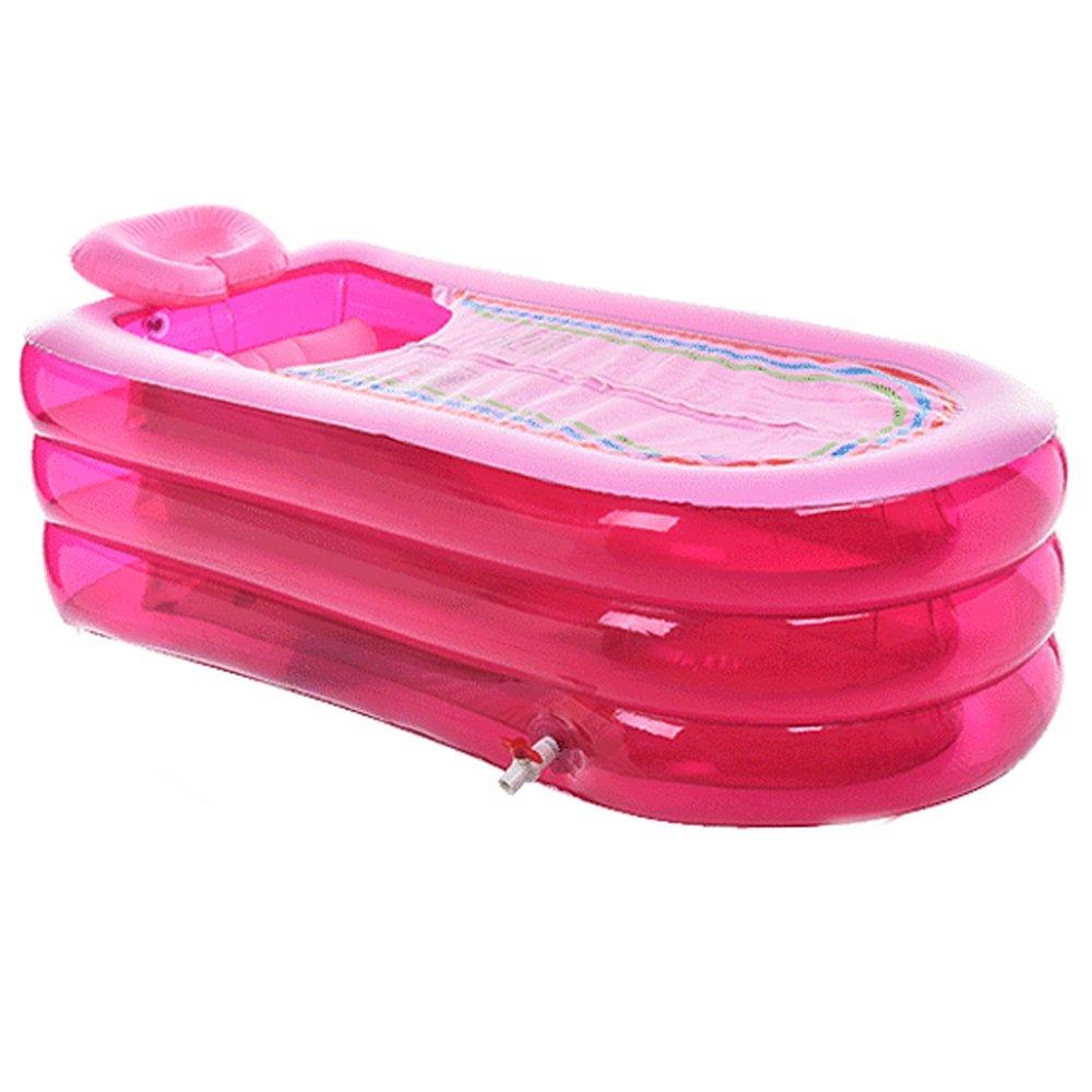 Bathtub XL Inflatable Folding for Adult, Plastic Portable, Home SPA, Soaking, 168cm*78cm*45cm