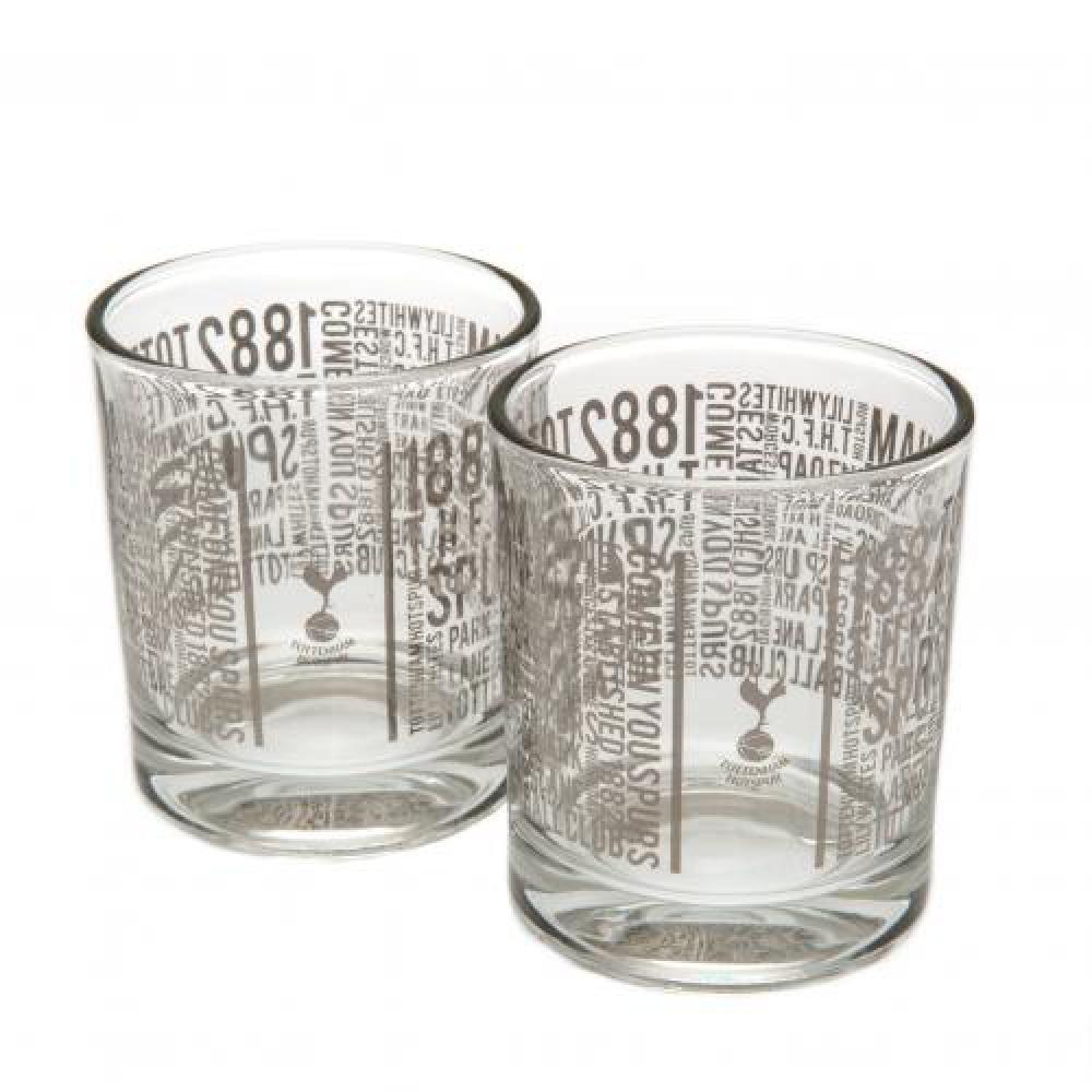 Tottenham Hotspur football club mixer glass