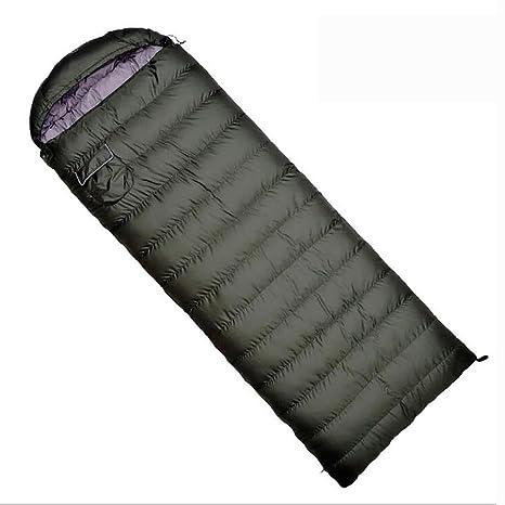 MIAO Saco de dormir - saco de dormir para acampar al aire libre adulto estupendo verde
