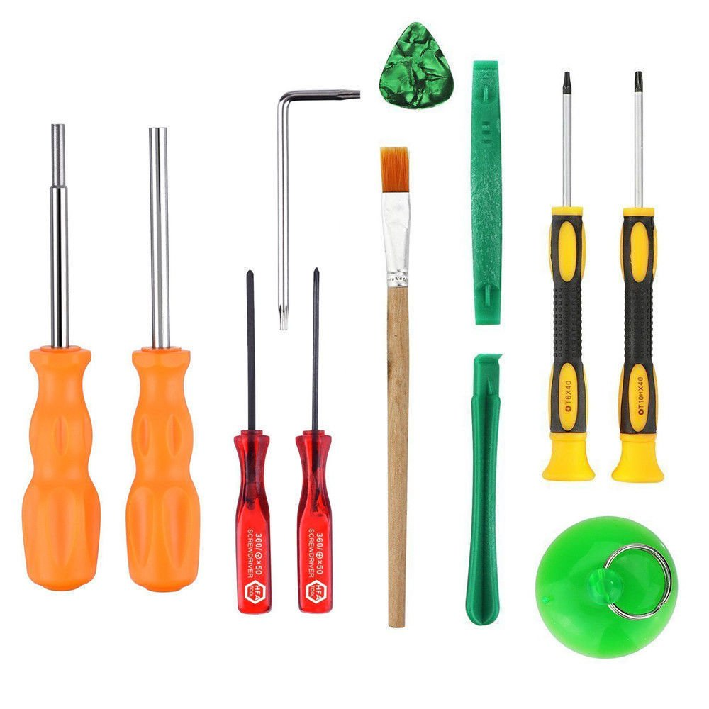 12 in 1 Repairing Screwdriver Tool Kit Set for PS4 XBox One 360 Game Console USA