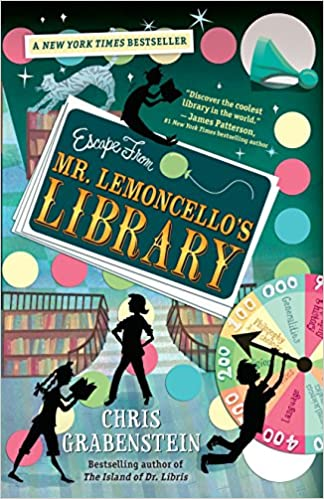 Escape from Mr. Lemoncellos Library: Amazon.es: Chris Grabenstein: Libros en idiomas extranjeros