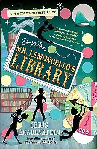 Escape from Mr. Lemoncellos Library: Amazon.es: Chris Grabenstein: Libros en idiomas extranjeros