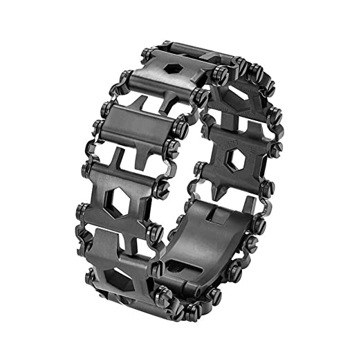 Tread Bracelet, Multi Tool Bracelet,Original Travel Friendly Wearable Multitool,29 in 1 Bracelet Screwdriver for Sailing/Travel/Camping Hiking Outdoor