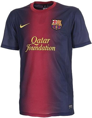 Nike Barcelona F.C. - Camiseta de fútbol infantil, 2012-13 talla XS, color azul: Amazon.es: Ropa y accesorios