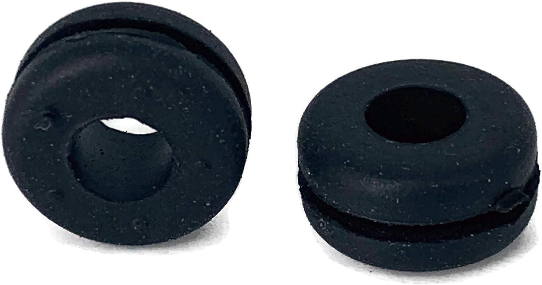Passe-c/âble Passe-fils en caoutchouc Passe-c/âble 6mm Oeillet 10 pi/èces eXODA