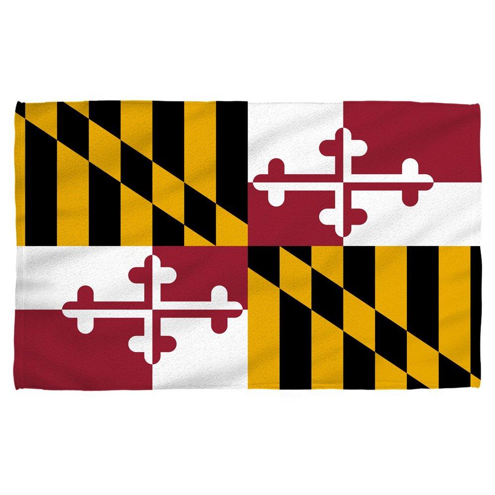Maryland State Flag -- Beach Towel
