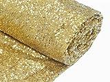 ShinyBeauty LightGold-Aisles Runner For Wedding-3FTX55FT,Sparkle Carpet Runner,Glitter Sequin Aisles Floor Runner