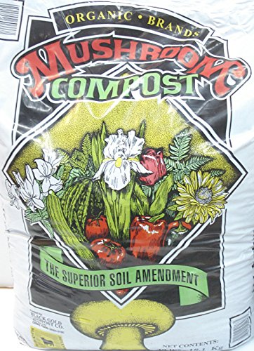 Organic Mushroom Compost (Mushroom Compost Organic Brands 40 pound bag)