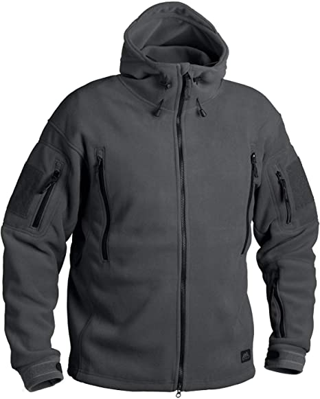 Helikon Mens Patriot Fleece Jacket Shadow Grey