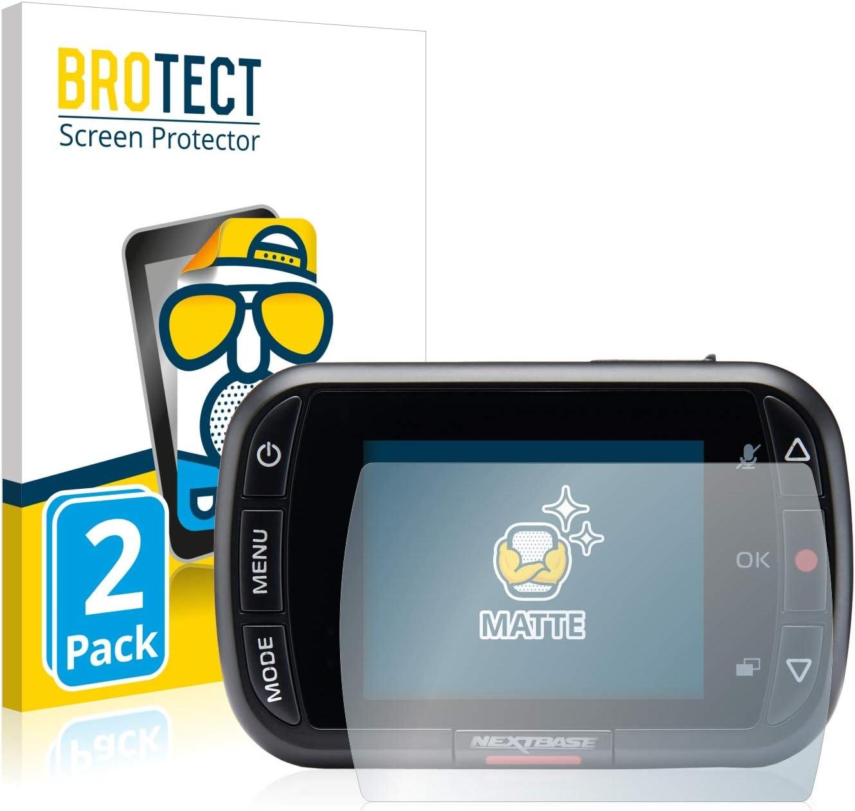 Anti-Glare Anti-Scratch BROTECT Matte 2X Matte Screen Protector for Nextbase 122