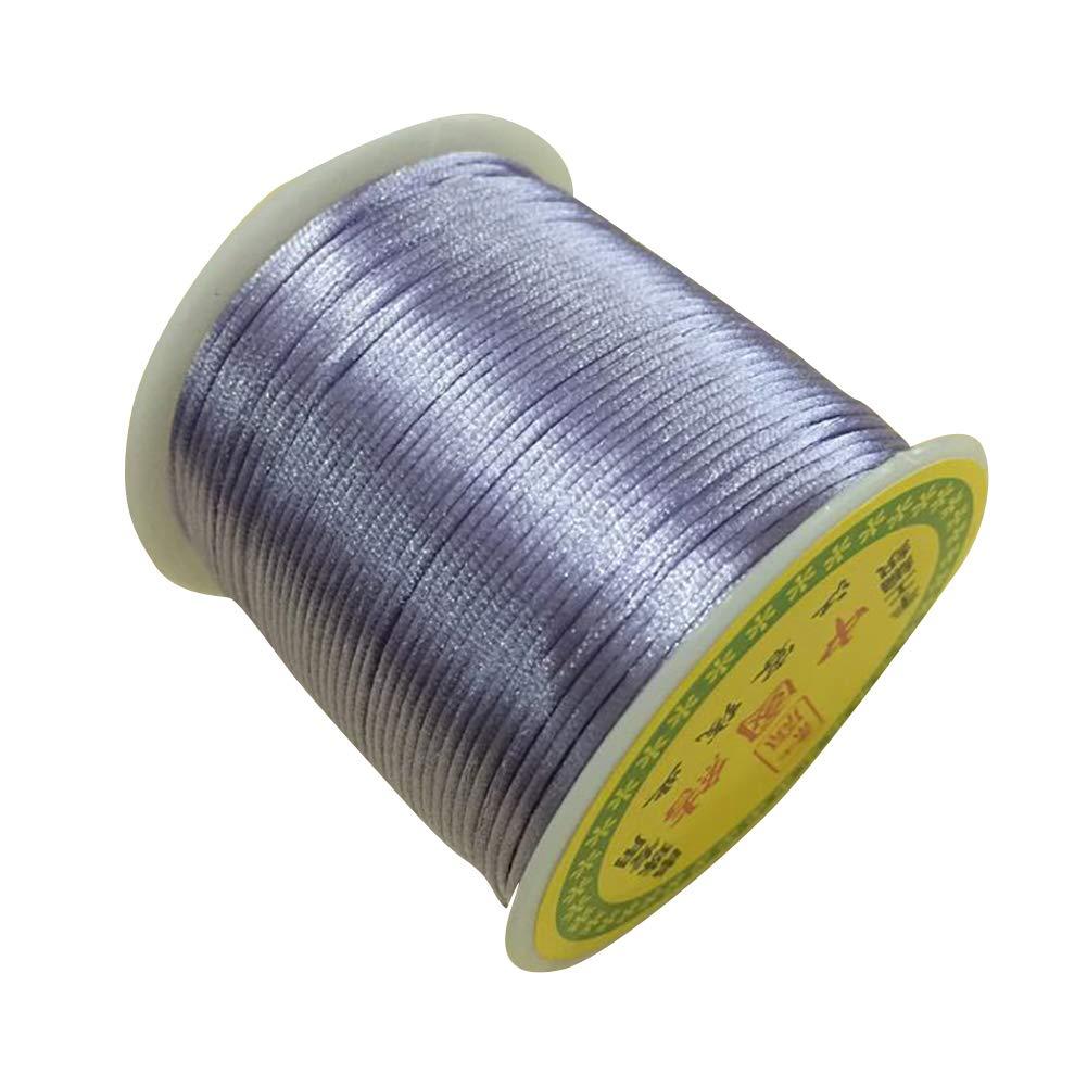 Cuerda de Alambre de Jade longyitrade Cuerda Trenzada de poli/éster para Manualidades