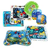 Joykith Toy Inflatable Baby Water Pad 7 Pcs Set Baby Inflatable Water Play Mat: Fun, Indoor & Outdoor Pad for Babies & Infants | Great Tummy Time Activity, Promotes Visual Stimulation