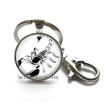 Scorpion Llavero Regalos para Hombre Scorpio Joyería Llavero ...