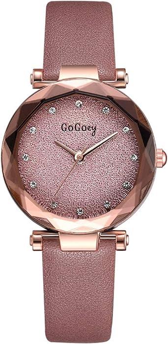 REALDE Reloj De Pulsera Reloj de Pulsera Minimalista Simplicidad ...