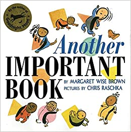 amazon another important book margaret wise brown chris raschka