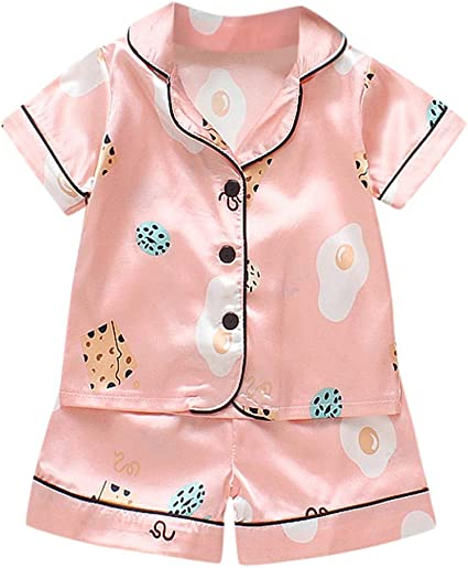 Girls pink cotton dress with summer print in age 18-24 months new summer