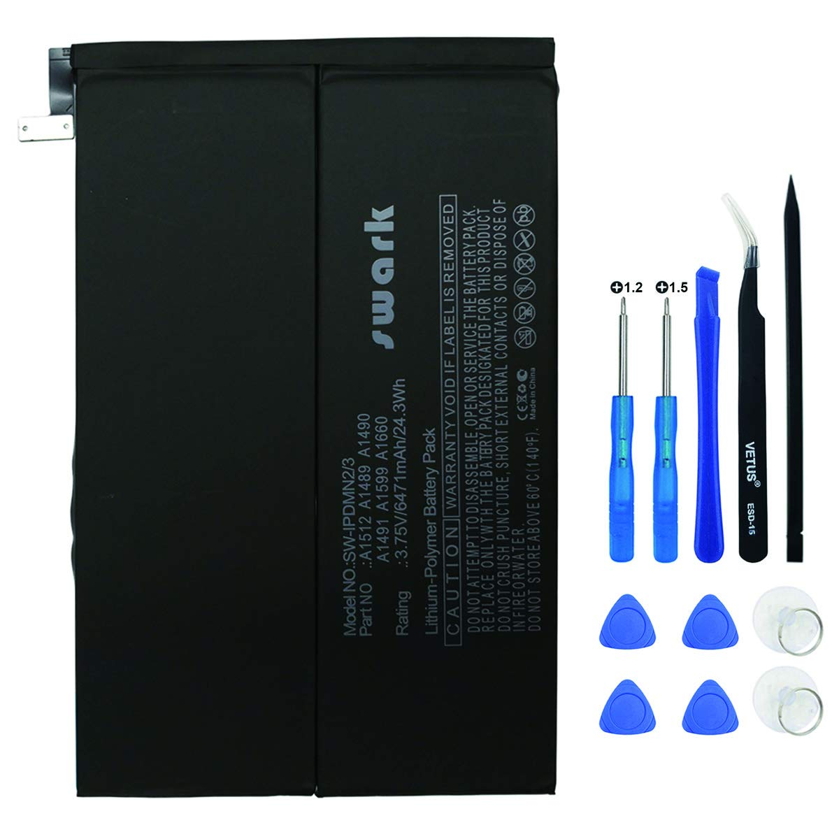 Bateria Tablet A1512 para Apple iPad Mini 2 iPad Mini 3 A159