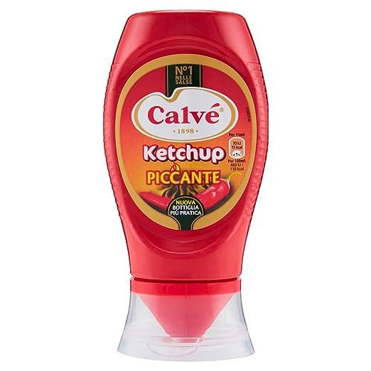 5 opinioni per Calve- Ketchup Piccante- 250 Ml