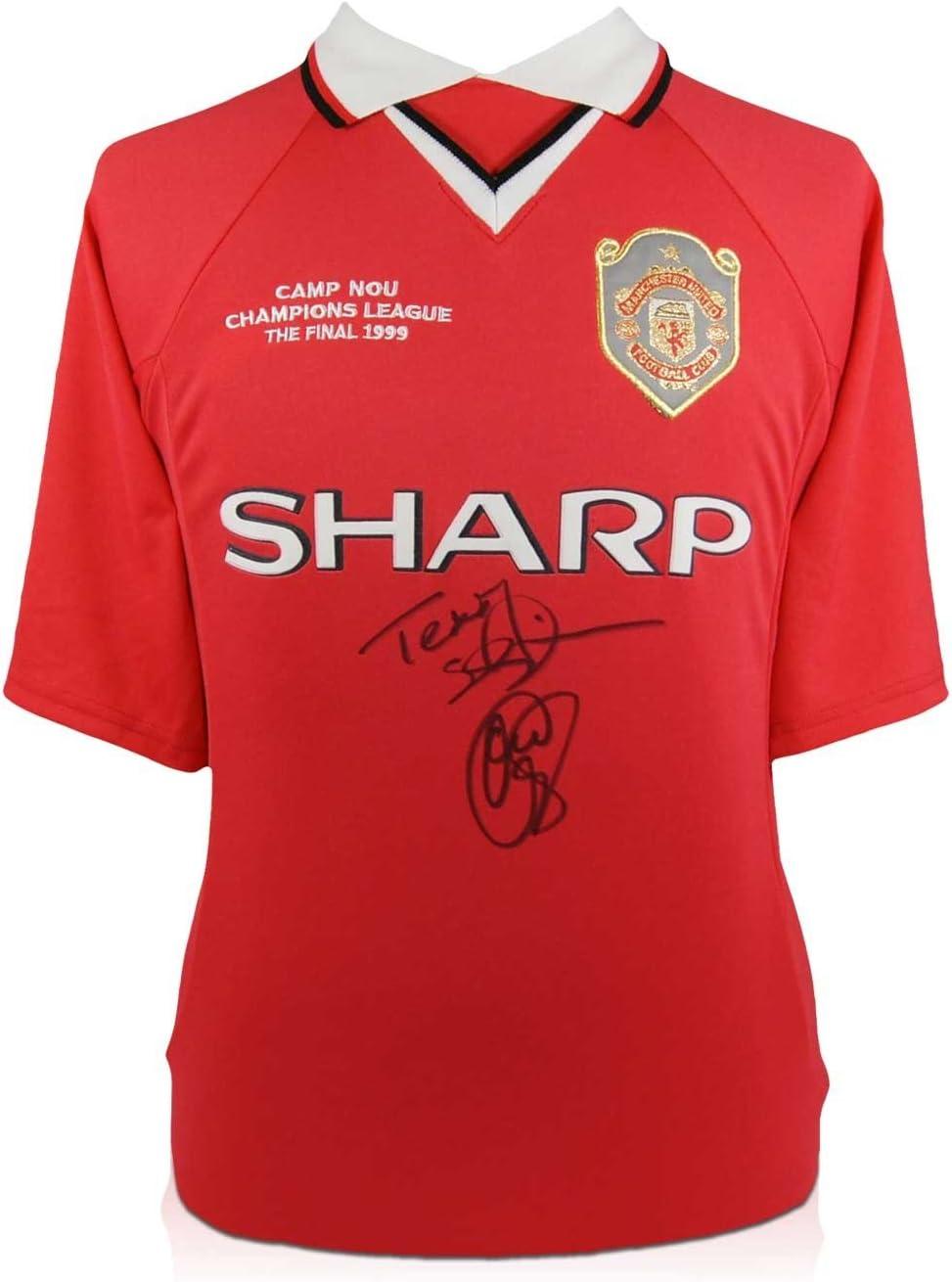 exclusivememorabilia.com Camiseta del Manchester United firmada ...