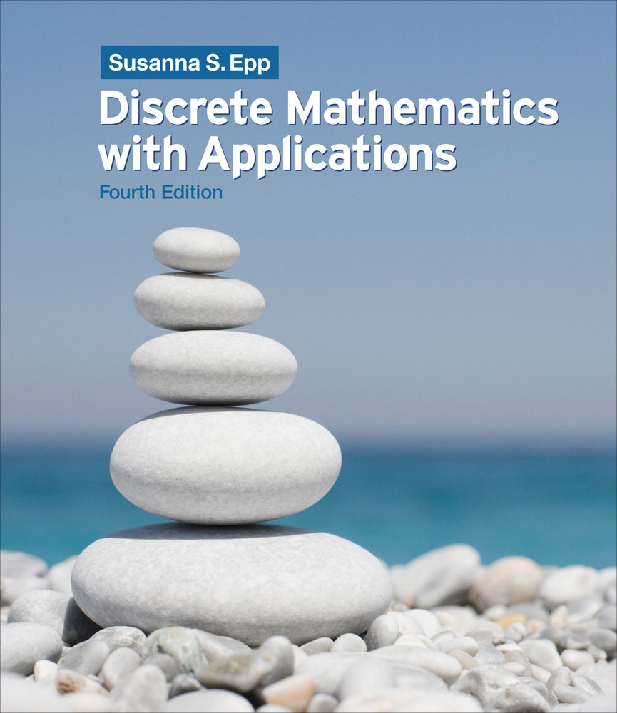 Amazon.com: Student Solutions Manual, Chapters 1-6 for Epp's Discrete  Mathematics with Applications, 4th Edition: Software