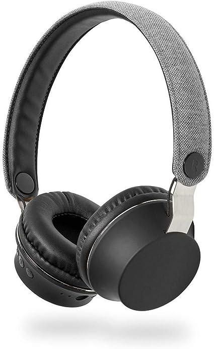TronicXL - Auriculares de diadema con Bluetooth, funda de tela ...