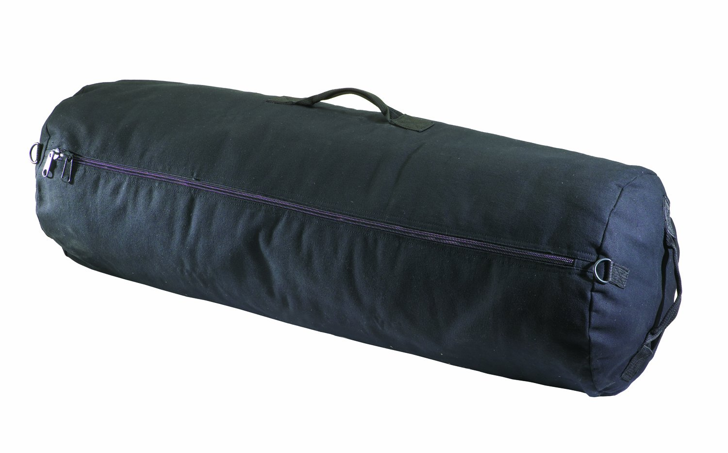 Texsport Zipper Canvas Duffle Roll Travel Sports Equipment Bag