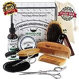 BEARDCLASS Beard Grooming Kit Set for Men (12 in...