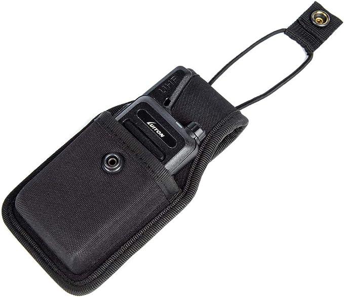 1 Pack Case for Retevis RT22//RT22S Holster Two Way Radio Holder Walkie Talkies Pouch for Retevis RT22 LUITON LT-316 WLN KD-C1 Zastone X6 Zeadio ZS-B1 TIDRADIO TD-M8 RADTEL RT-10 RADIODDITY R1