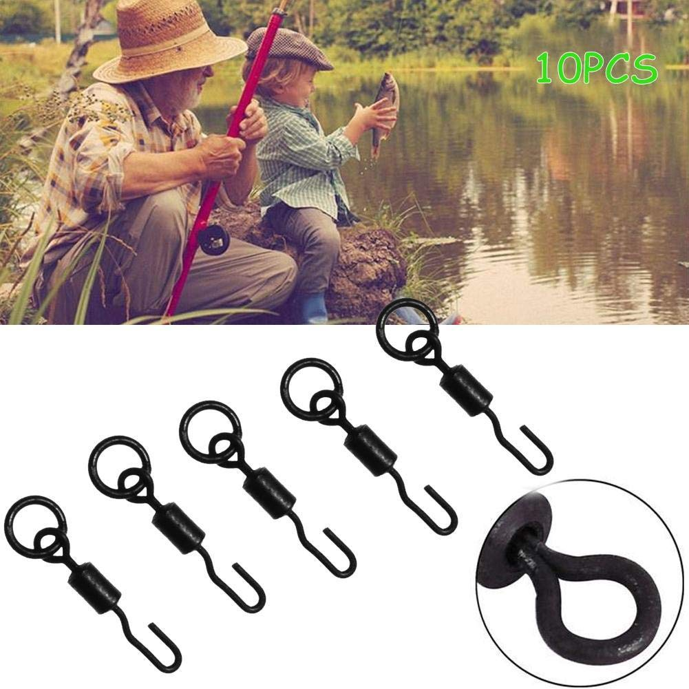 Quick Change Ronnie Rig Swivel Spinner Swivel Terminal Tackle Fishing Rigs