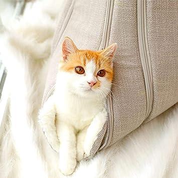 Ridecle Portátil Suave Gato Nido Mascota Cama para Mascotas Gato y Perro Saco de Dormir Perro Gato Casa con Una Bola de Juguete: Amazon.es: Productos para ...