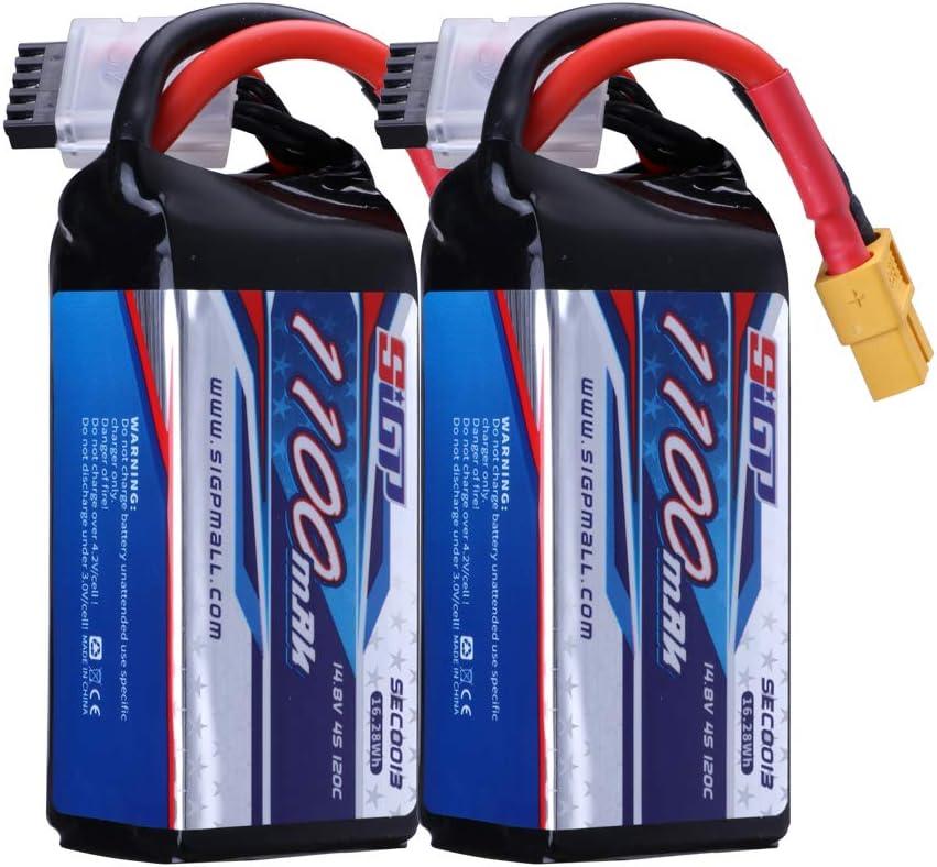 Bateria Lipo 1100mAh 4S 14.8V 120C con enchufe  XT60