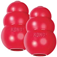 Kong Classic Dog Toy, Small - 2 Pack