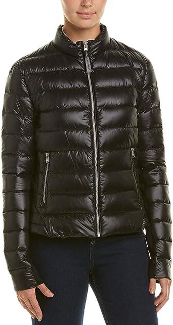Mackage Womens Cindee Short Lustrous Light Weight Down Jacket