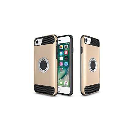 differently f4574 d1907 Amazon.com: Ring Holder Kickstand Function Case iPhone 8 / iPhone 7 ...