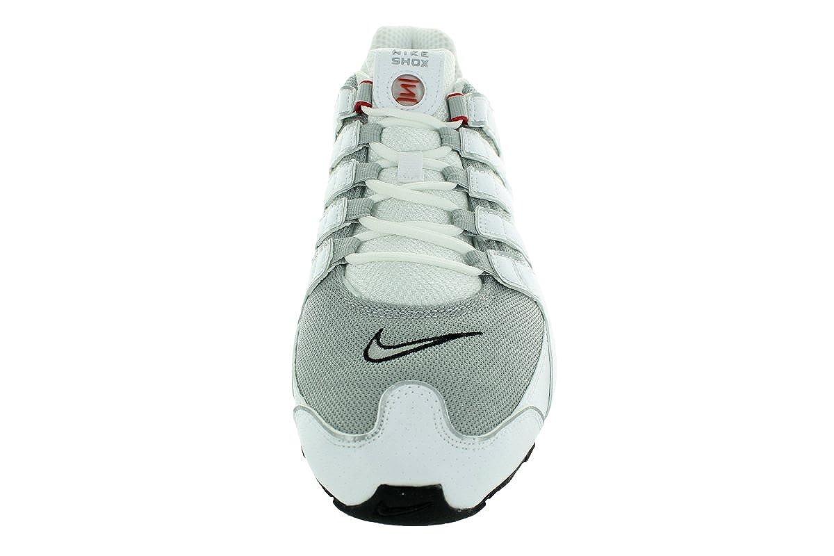 Nike Herren Shox Nz Sneaker, Bianco
