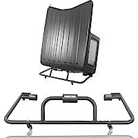 Hooke Road Wrangler Hard Top Stand Cart Roof Storage Sliding Rack Compatible with Jeep Wrangler YJ TJ JK JL 1987-2021