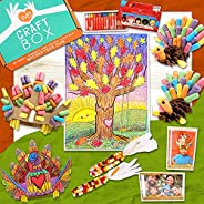 WE CRAFT BOX Kids Arts and Craft Subscription Box Age 3 4 5 6 7 8 9