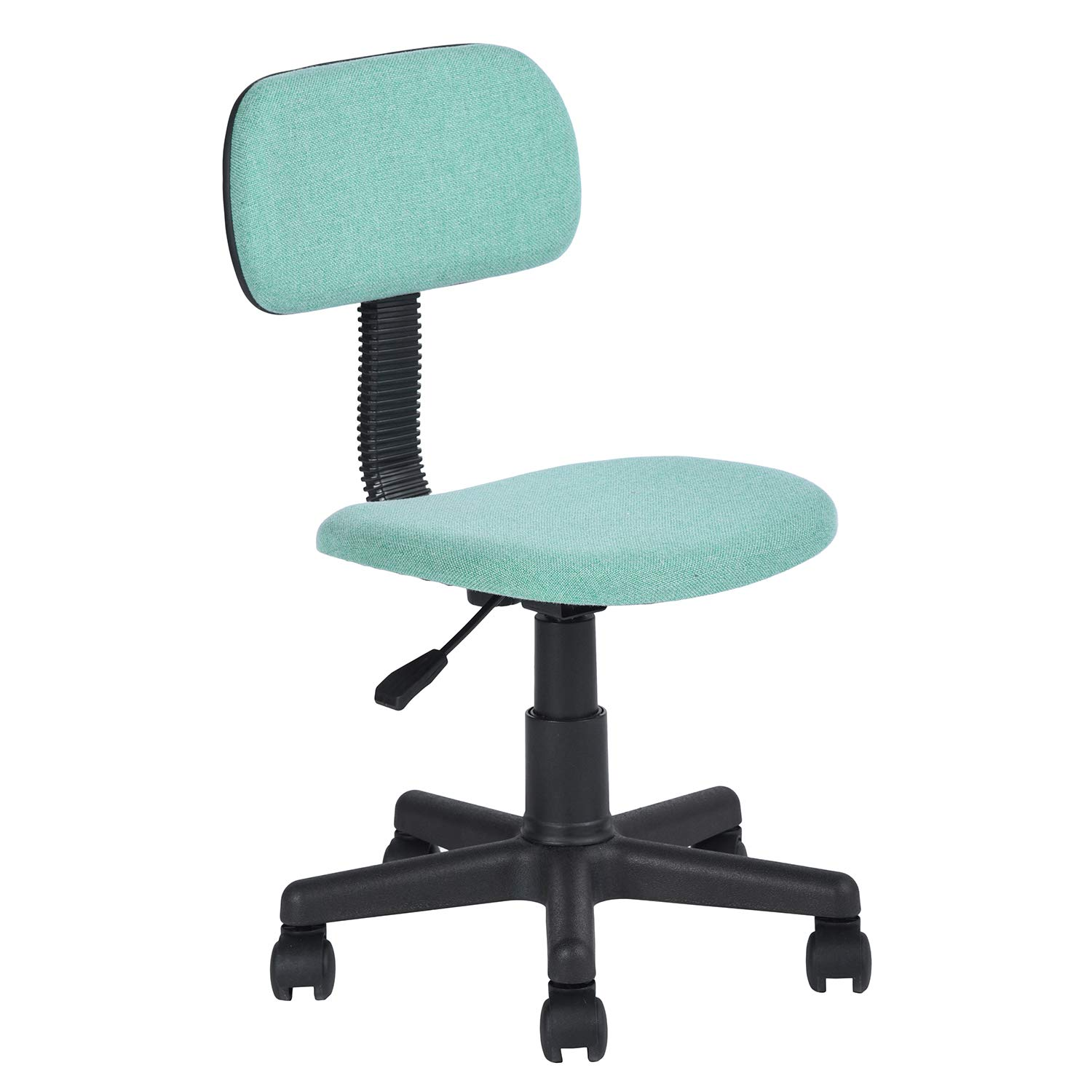 HOMY CASA Yanyan Mesh Mid-Back Executive Adjustable Computer Task Desk Office Chairs (Green)