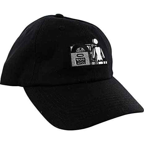 26da0dd9724 Image Unavailable. Image not available for. Color  Girl Skateboards X Sub  Pop Black Snapback Hat ...