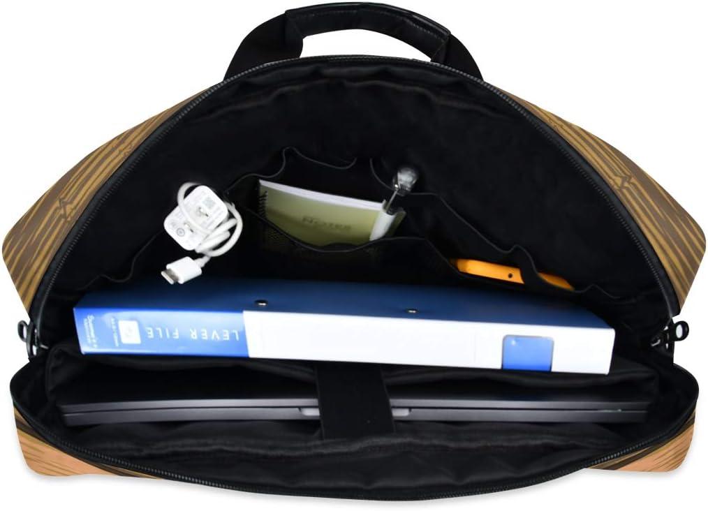 Laptop Bag Sunflower Shoulder Messenger Laptop Case Sleeve Sunflowers Leaves Wooden Business Bag 14//15//15.6 Inch for Men Women