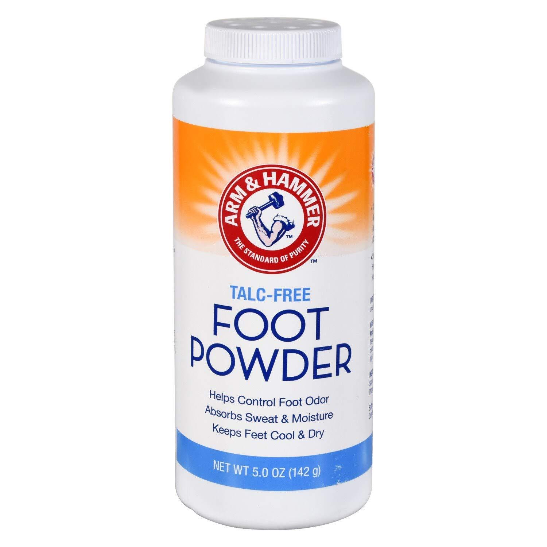 Arm & Hammer Talc-Free Foot Powder 5.0 OZ (Pack of 2)