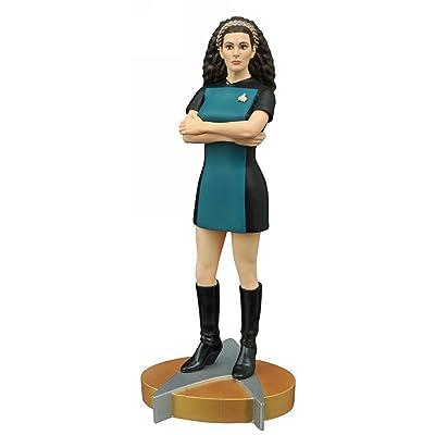 Diamond Select Toys Star Trek: The Next Generation: Counselor Deanna Troi Femme Fatales PVC Statue: Toys & Games [5Bkhe1202235]