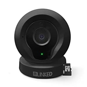 X10 LINKED LQ2 Wireless IP Camera, Baby Monitor and Home Security Cam, 720P HD, P2P Network Camera, Video Monitoring and Recording, Night Vision. Compatible with iphone, android. 8GB SD card (Black).