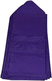 product image for BAGS USA Shoe Rack Holds 10 Pair,Shoe Storage Bag,Closet Organizer, Industrial Nylon (Purple)
