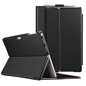 Fintie Protective Case for Surface Pro 6 - Multiple Angle Hard Shell Business Cover, Compatible with Type Cover Keyboard for Microsoft Surface Pro 6 / ...