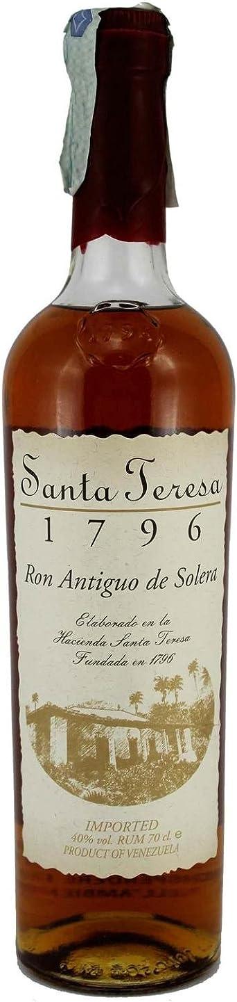 Rum Antiguo de Solera Santa Teresa 1796 40% 70 cl. Rhum ...